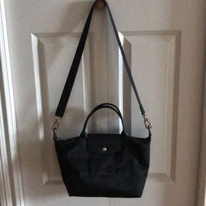Longchamp Nylon Le Pliage Neo Top handle tote bag